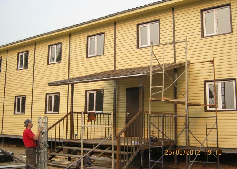 Построить быстровозводимый дом в красноярске